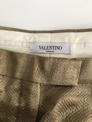 Valentino Palazzo Pants bronze-colored