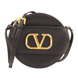 Valentino V Sling Leather Crossbody Bag