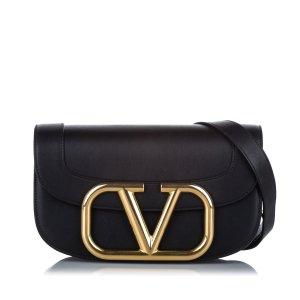 Valentino Crossbody bag black leather