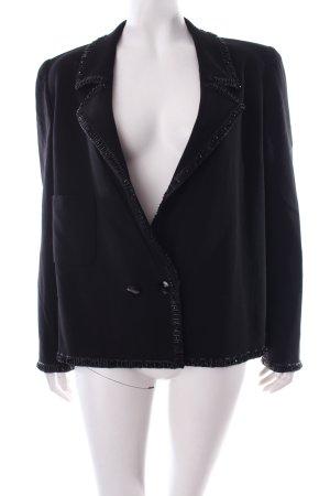 Valentino Wollen blazer zwart zakelijke stijl
