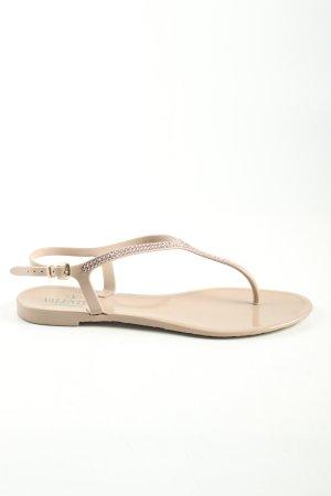 Valentino Zehentrenner-Sandalen wollweiß Casual-Look