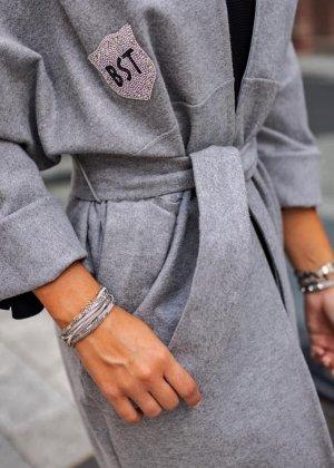 Oversized Coat grey