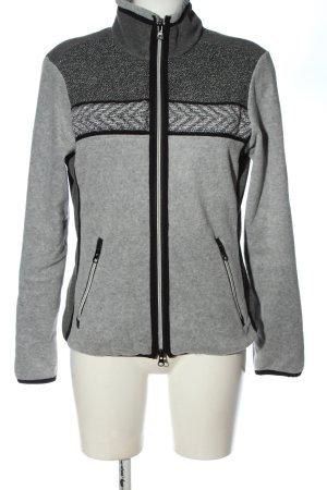 Valiente Fleece Jackets light grey casual look