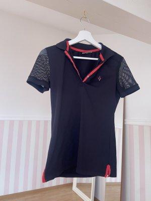 Valiente Polo Shirt mit Netz-Detail