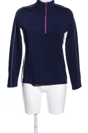 Valiente Sportshirt blau Casual-Look