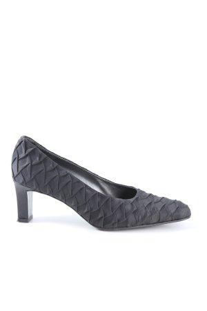Valle Verde High Heels schwarz Business-Look