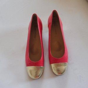 valleverde Loafers roze-goud Leer