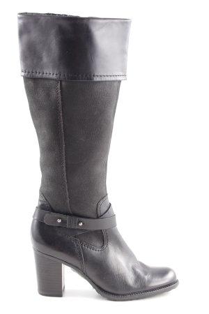 van der Laan Absatz Stiefel schwarz Casual-Look