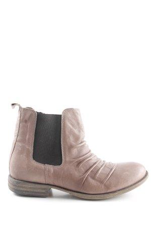van der Laan Chelsea Boots hellbraun Casual-Look