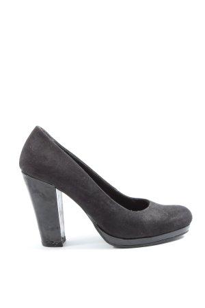 van der Laan High Heels schwarz Elegant