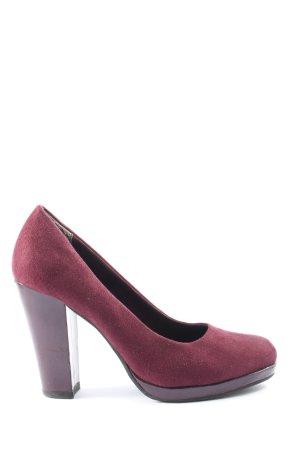 van der Laan High Heels pink Casual-Look