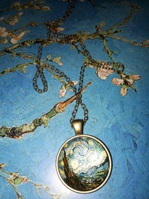"Van Gogh Halskette ""Starry Night"" Vintage"