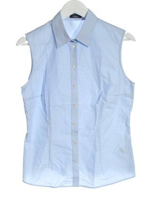 van Laack Sleeveless Blouse blue business style