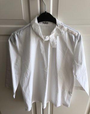 van Laack Long Sleeve Blouse white cotton