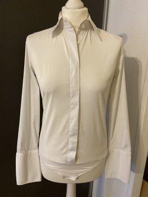 van Laack Bodysuit Blouse white
