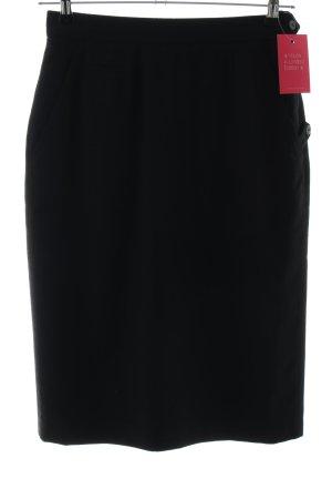 van Laack Falda de talle alto negro estilo «business»