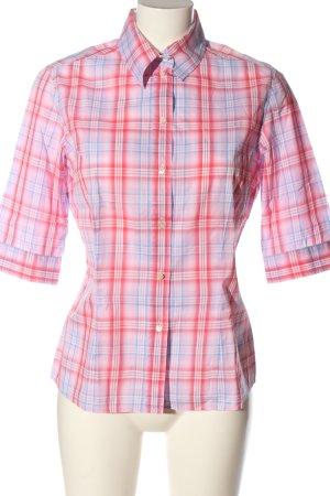 van Laack Lumberjack Shirt red-blue allover print casual look