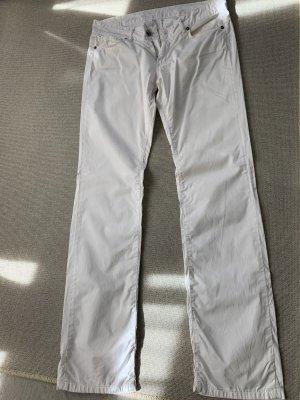 van Laack Stretch Trousers white cotton