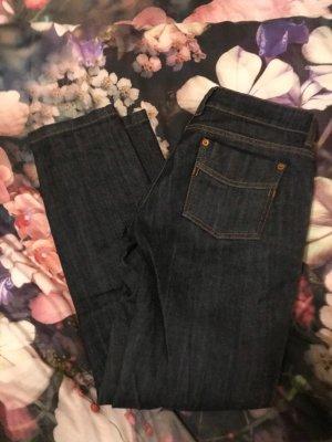 van Laack Straight Leg Jeans dark blue