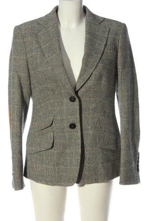 van Laack Short Blazer check pattern business style