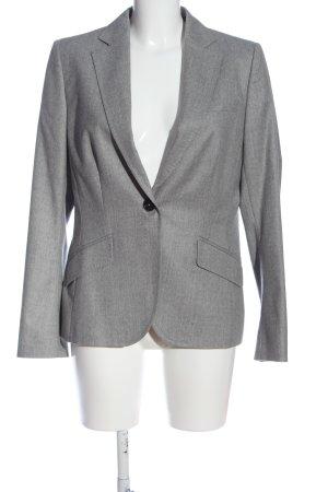 van Laack Short Blazer light grey flecked business style