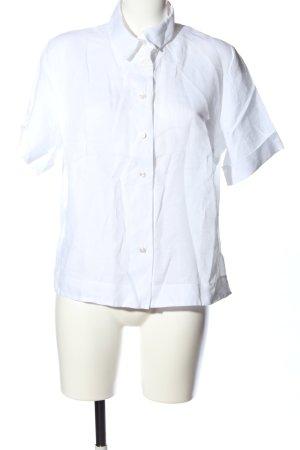 van Laack Shirt met korte mouwen wit zakelijke stijl