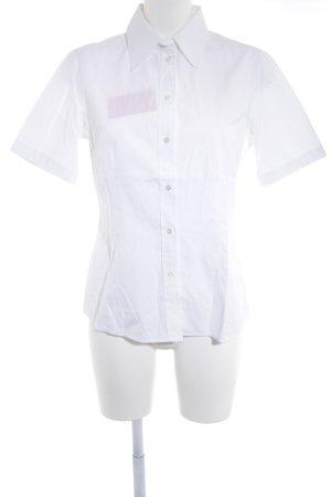 van Laack Shirt met korte mouwen wit casual uitstraling
