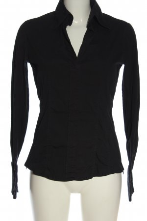 van Laack Long Sleeve Shirt black elegant