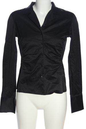 van Laack Long Sleeve Shirt black casual look