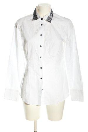 van Laack Camicia a maniche lunghe bianco stile casual