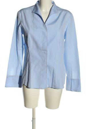 van Laack Langarmhemd blau Casual-Look