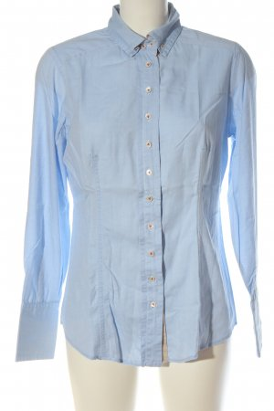 van Laack Long Sleeve Shirt blue elegant
