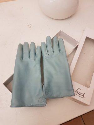 van Laack Gloves light blue leather