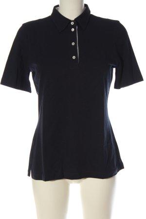 van Laack Polo Shirt blue casual look