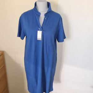 van Laack Polo Dress steel blue