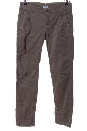 van Laack Jersey Pants brown casual look