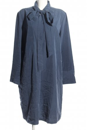 van Laack Tunikakleid blau Business-Look