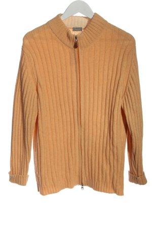 van Laack Wool Jacket light orange casual look