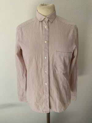 van Laack Colletto camicia color oro rosa-bianco