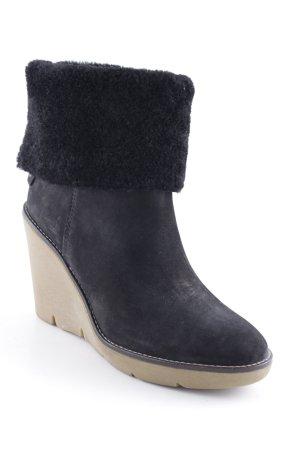 Vanessa Bruno athé Absatz Stiefel schwarz-beige Casual-Look