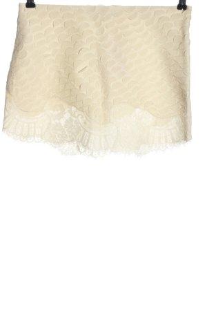Vanessa Bruno Minigonna crema stampa integrale elegante