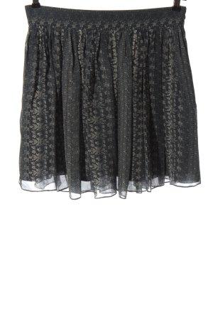 Vanessa Bruno Minigonna grigio chiaro motivo floreale stile casual