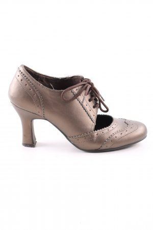 Mary Jane pumps brons casual uitstraling