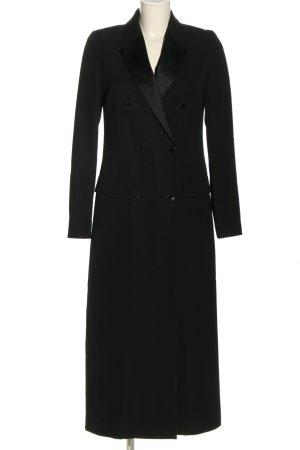 Vanessa Seward Marynarski płaszcz czarny W stylu biznesowym