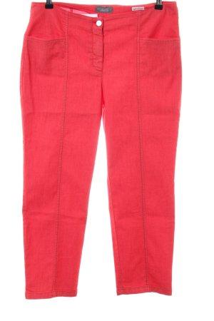 Vanilia Jeans a 7/8 rosso stile casual