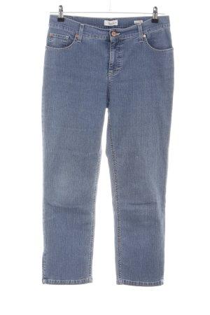 Vanilia 7/8-jeans blauw casual uitstraling