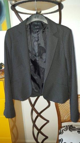 Vanilia Blazer schwarz gemustert Gr.38