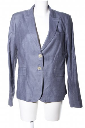 Vanilia Long-Blazer blau Business-Look