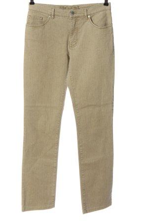 Vanilia Jeansy z prostymi nogawkami kremowy W stylu casual