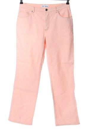 Vanilia Jeansy z prostymi nogawkami różowy W stylu casual
